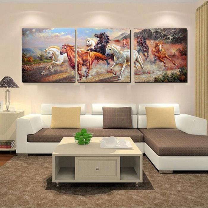 Pas De Cadre Mur Art Dcoration Cheval Photographie Toile Peinture