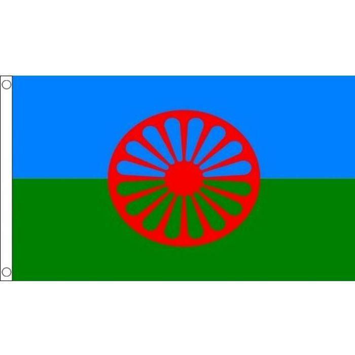 drapeau gyspi 150x90cm - tzigane  u2013 gitan haute  u2026