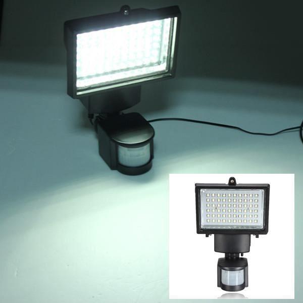 60led Jardin Solaire Capteur Mouvement Projecteur Cour Détecteur Appliqe Lampe wn0k8OP