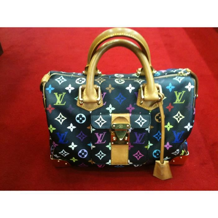 Sac Louis Vuitton Speedy 30 en toile monogram - Achat   Vente Sac ... 94a60536da3