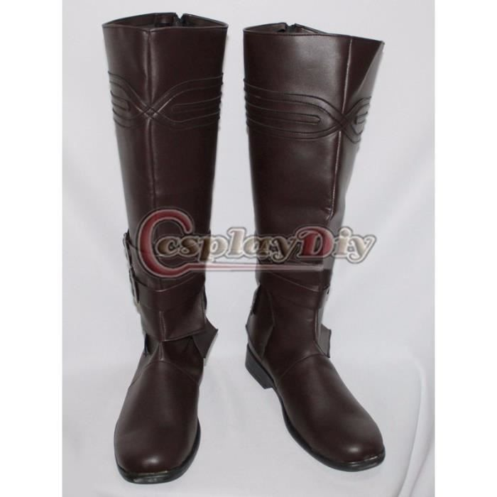 Assassin's Creed Ezio Boots Adulte Halloween Carnival Cosplay Botte