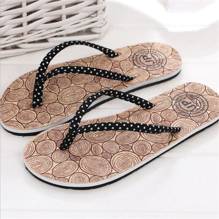 Femme Sandale Nouvelle Mode plates intérieur de plein air 2017 ete Meilleure Qualité Nouvelle arrivee Sandales Luxe Grande Taille 5ihRhbysFu