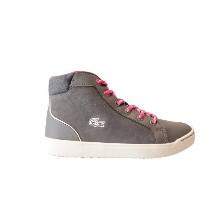 6e392f6df2 Lacoste Explorateur MID 316 2 CAC DK GRY LTH/SYN 732CAC1001248 Gris ...
