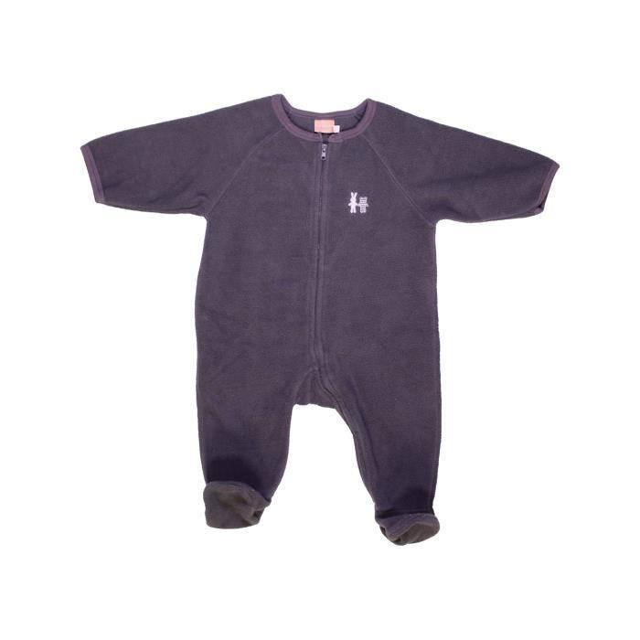 7c4850334edcf Robe de chambre bébé fille NATALYS 9 mois violet hiver  924813 ...
