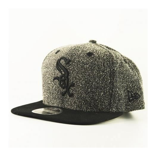 super populaire 2dd58 d06b5 Casquette New Era 9Fiifty Chicago White Sox Flecked Crown Gris