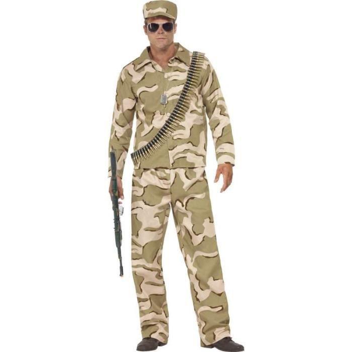 best sale hot new products low price Commando Costume M - Achat / Vente accessoire déguisement ...