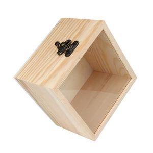 boite de rangement bois avec couvercle achat vente pas. Black Bedroom Furniture Sets. Home Design Ideas
