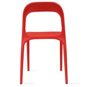 chaise de salon rouge achat vente chaise de salon rouge pas cher cdiscount. Black Bedroom Furniture Sets. Home Design Ideas