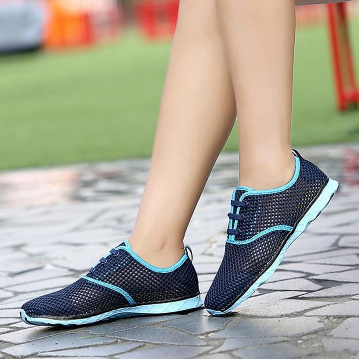 hommes respirants mode de runnings et sport féminin unisexe chaussures de sport occasionnels chaussures de jogging femme mâle plein iYPkOz