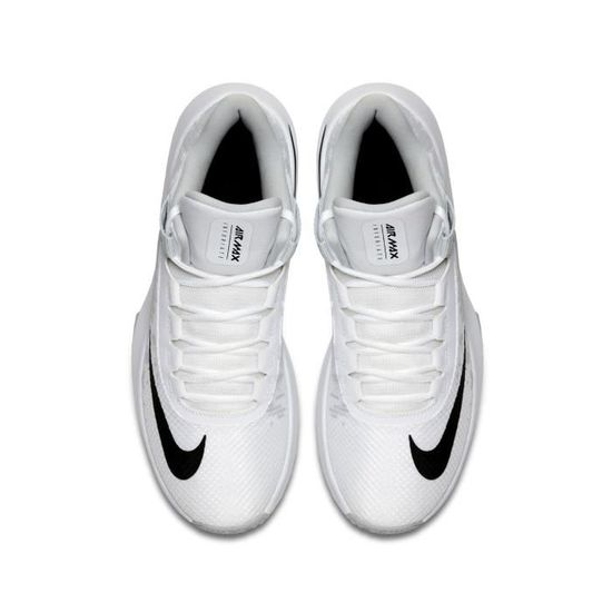 los angeles f5a2a c225d Chaussures basketball Nike Air Max Infuriate 2 Mid Blanc-Gris - Prix pas  cher - Cdiscount