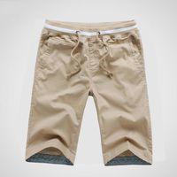 Bermuda Hommes Shorts en Coton Mode Vêtement St...