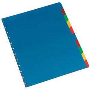 Protège-document Intercalaire adoc color polypropylène - jeu de 10
