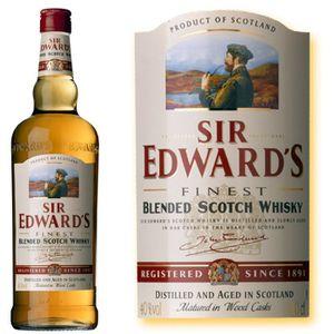 WHISKY BOURBON SCOTCH Sir Edwards 40% 70cl