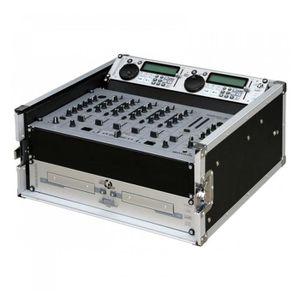RACK Flight case multifonctionnel 19'' table de mix