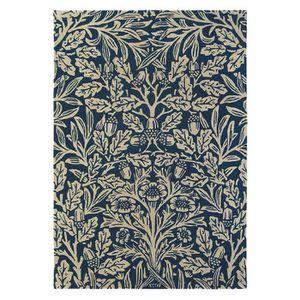 tapis tapis chambre oak bleu marine 140x200 par morris - Tapis Bleu Marine