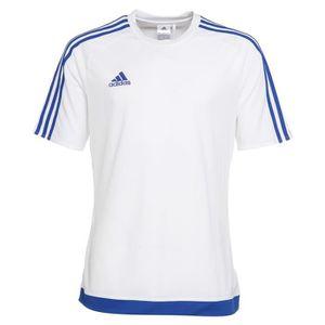MAILLOT DE FOOTBALL ADIDAS Maillot de Football Estro 15 Blanc / Bleu