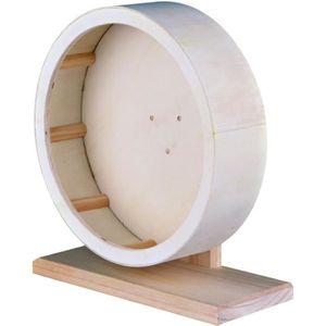 ROUE - BOULE D'EXERCICE TRIXIE Roue en bois, ø 22 cm pour rongeur
