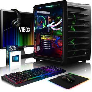 UNITÉ CENTRALE + ÉCRAN VIBOX Spectrum RXR770-130 Pack PC Gamer - Intel 10