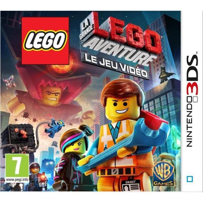 JEU 3DS LEGO La Grande Aventure Jeu 3DS