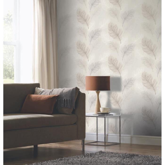 Tapisserie taupe fabulous papier peint expans sur intiss for Papier peint taupe clair