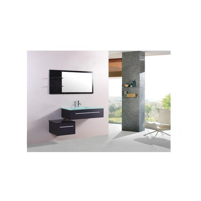 Meuble de salle de bain 1 vasque 2 robinet - Achat / Vente Meuble ...