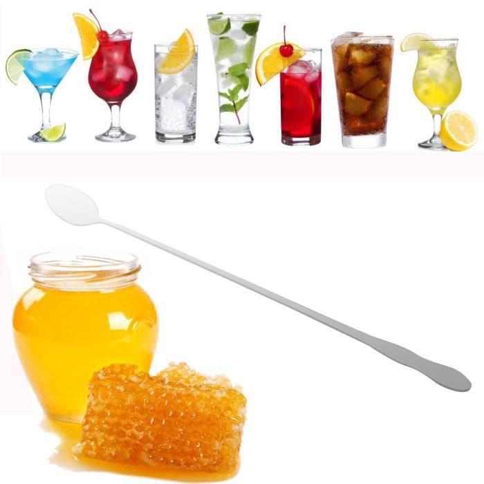 Soda - Thé glacé Longue en acier inoxydable crème glacée cocktail C