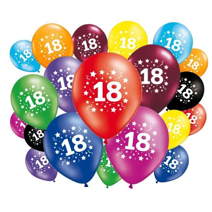 Ballon Anniversaire 18 Ans Achat Vente Pas Cher