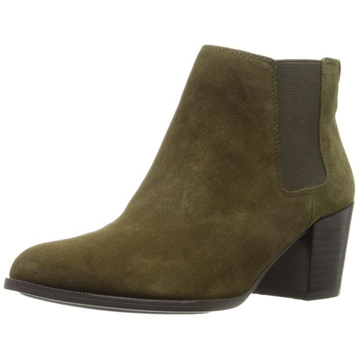 Anne Klein Geordanna Suede Chelsea Boot MZS64 Taille-40 1-2 LlWGN