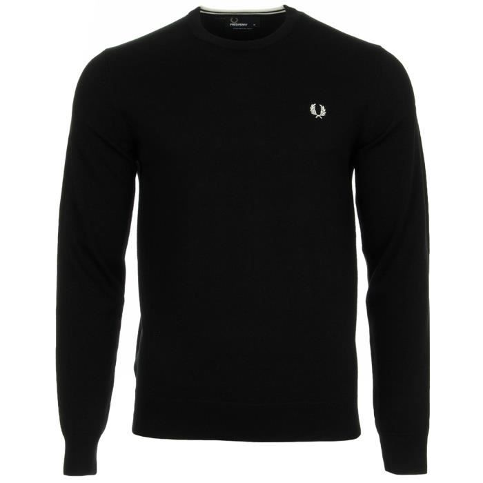 Pull Fred Perry Classic Crew Neck Sweater