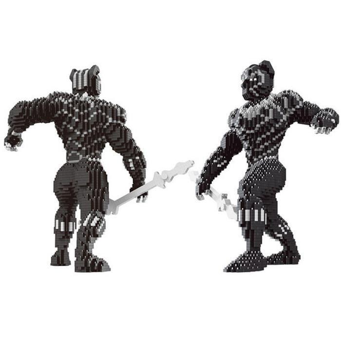de Diamant Black Blocs blocs Noir Panther Panthère Héros Super wv8xnAZ8qf