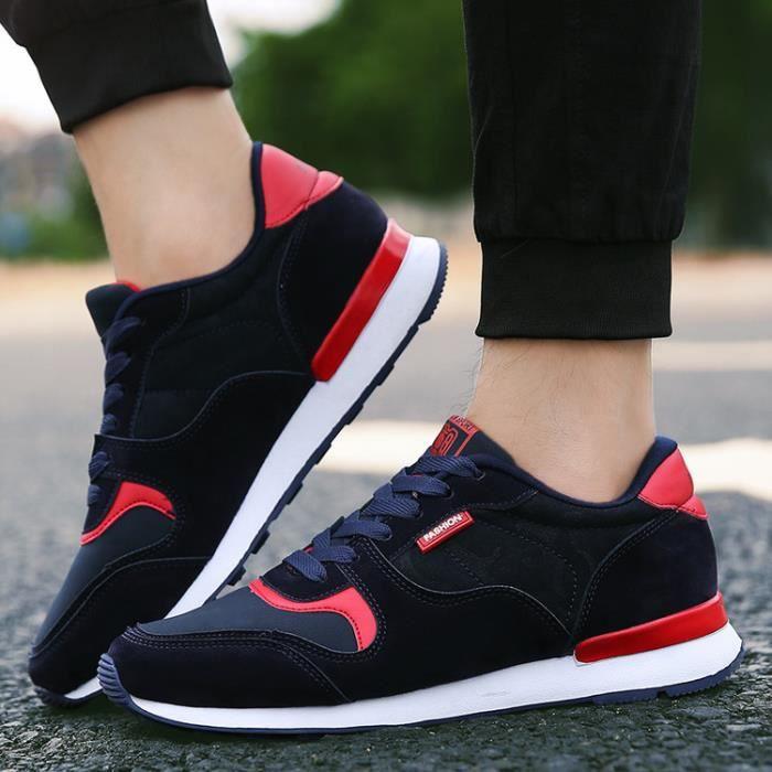 Chaussures De Noir Course Homme Confortable Sneaker E2YbeIDH9W