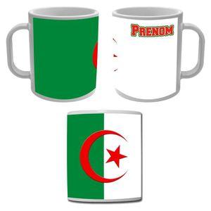 BOL - MUG - MAZAGRAN Mug tasse Algérie drapeau algérien personnalisé