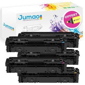 TONER Lot de 5 Toner cartouche compatible pour HP Color