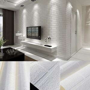 Papier Peint Brique Blanc Achat Vente Pas Cher