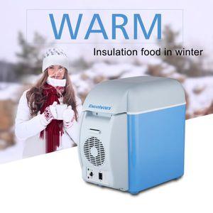RÉFRIGÉRATEUR CLASSIQUE Excelvan 7.5L Glacière BT17 12V Mini Réfrigérateur