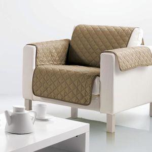 HOUSSE DE FAUTEUIL Housse de fauteuil microfibre 160x179 cm taupe 165