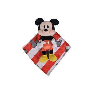 PELUCHE Peluche Mickey La Souris 28 Cm Avec Mouchoir Rouge