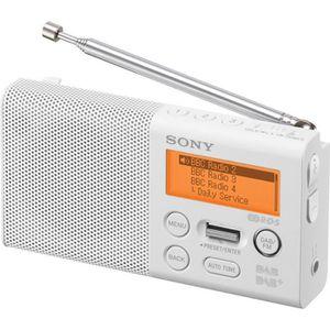 RADIO CD CASSETTE SONY XDR-P1DBPB Radio portable compacte FM + DAB -