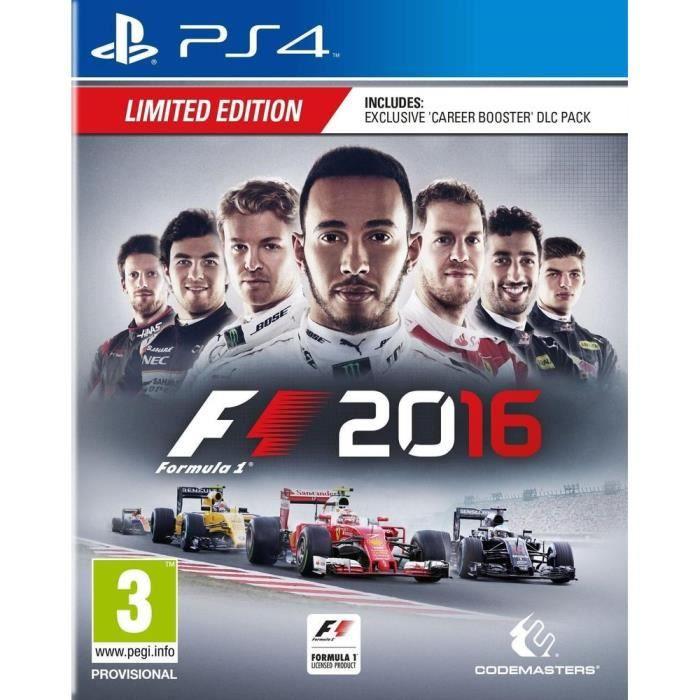 F1 2016 Jeu PS4