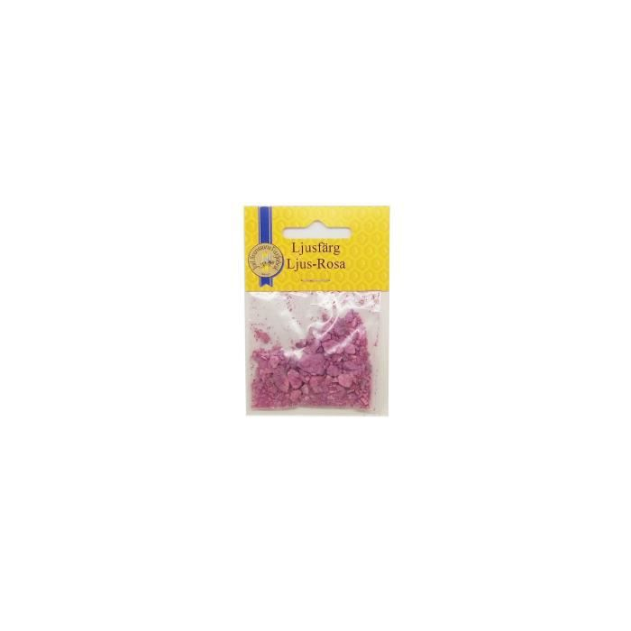 PANDURO Pigment pour bougie Rose- En poudre - Sachet de 4 g