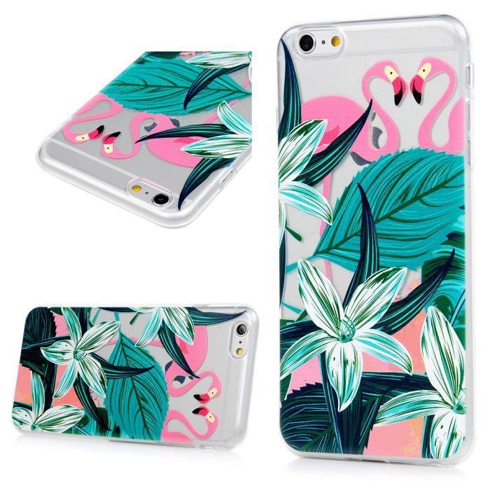 coque iphone 6 plus silicone motif