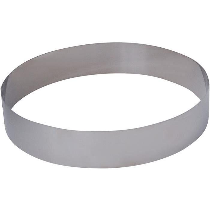 EMPORTE-PIÈCE  DE BUYER Cercle Collectivite - Ø 22 cm - Argenté