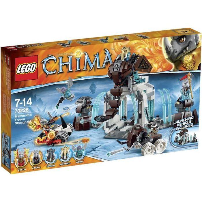 Lego chima 70226 la forteresse glac e du mammouth achat vente assemblage construction - Saint de glace 2018 ...