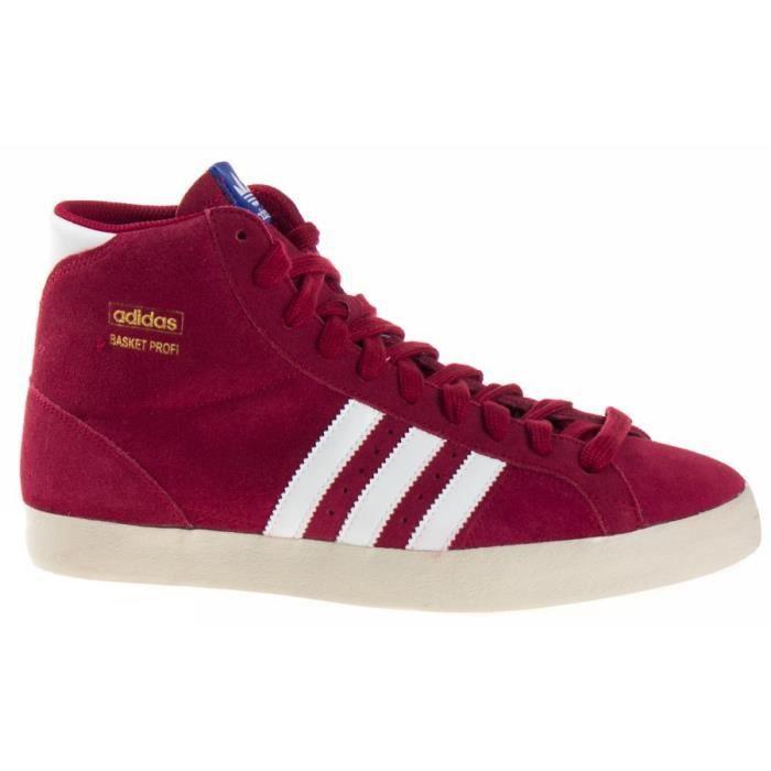 Basket Adidas BASKET PROFI (GS) et + Q23332 Rouge Achat