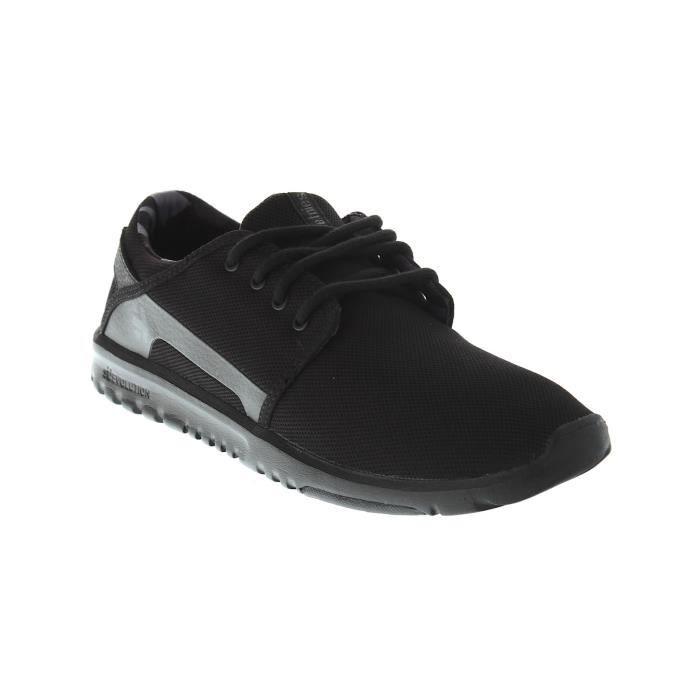 Chaussure Etnies Scout Noir-Noir-Gris 60DxMj32c