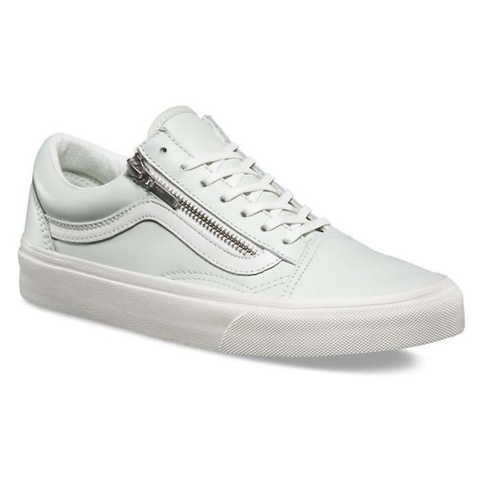 Multicoloured Zip Blanc Vans Chaussures Baskets Skool Old Ua Homme Igmb76fvYy