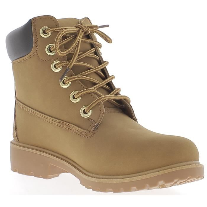 Cher Bottines Lacet Achat Vente Camel A Pas YraxUYnT6q