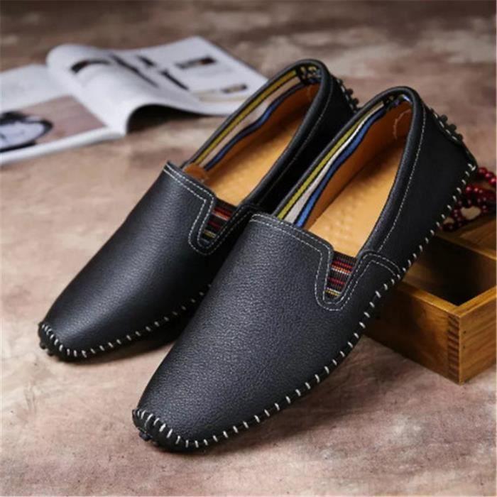 Homme Soulier Nouvelle Mode Qualité SupéRieure Chaussures Confortable Classique Durable 38 70