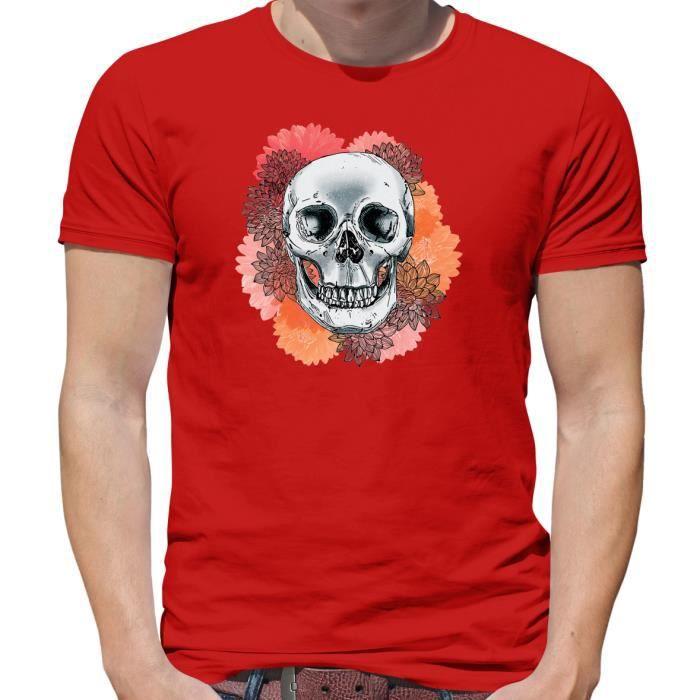 5f5dc7e6ac632 T shirt fleur homme - Achat / Vente pas cher