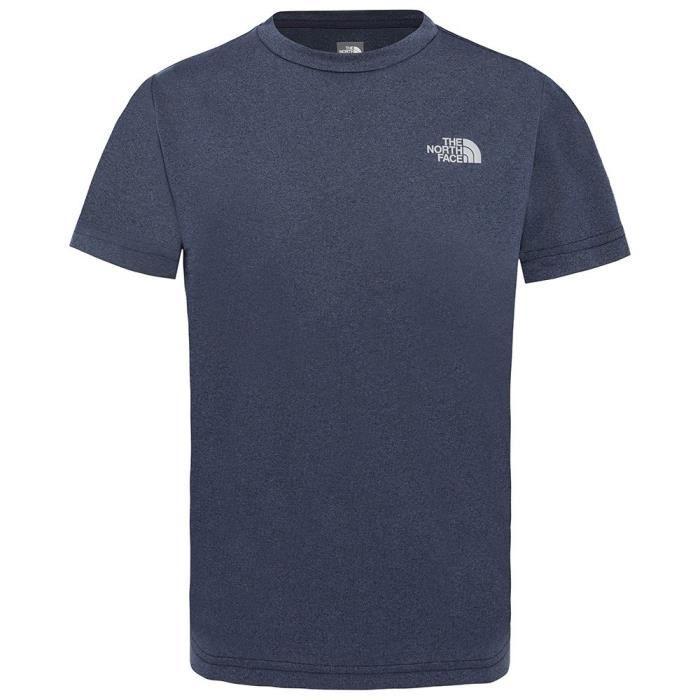 d419edce9 Vêtements enfants T-Shirts The North Face S-s Reaxion Tee 2.0 Bleu ...